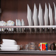 Plate Rack — Stock Photo