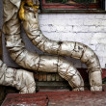 tubos de caldeira — Foto Stock