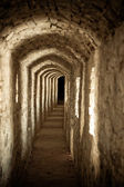 Passage in the castle — Stock Photo
