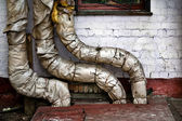 Boiler pipes — Stock Photo