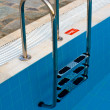 Swimming pool ladder - ストック写真