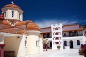 Greek monastery — Stock Photo