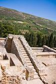 Ruinen von knossos palace — Stockfoto