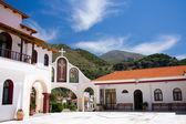 Entrance to monastery — Stock Photo