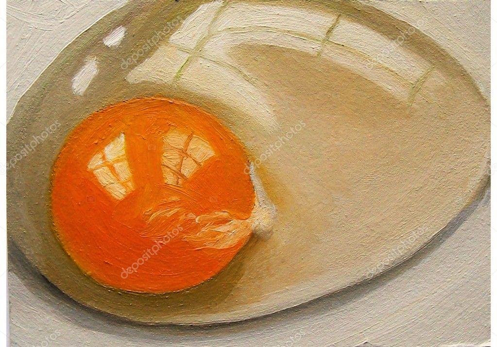 Почему у сырых яиц желток твердый