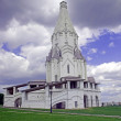 Foto Stock: White old church in Kolomenskoe