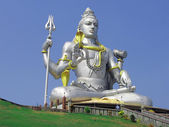 Bůh shiva socha — Stock fotografie