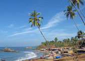 Goa beach landscape — Stockfoto