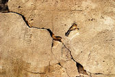 裂纹的 grunge 石水泥背景 — 图库照片