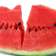 Fresh and ripe water melon — Stock Photo