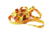 Isolated tape measure — Stockfoto