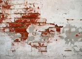 Cracked grunge brickwall background — Stock Photo