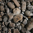 Stock Photo: River rocks