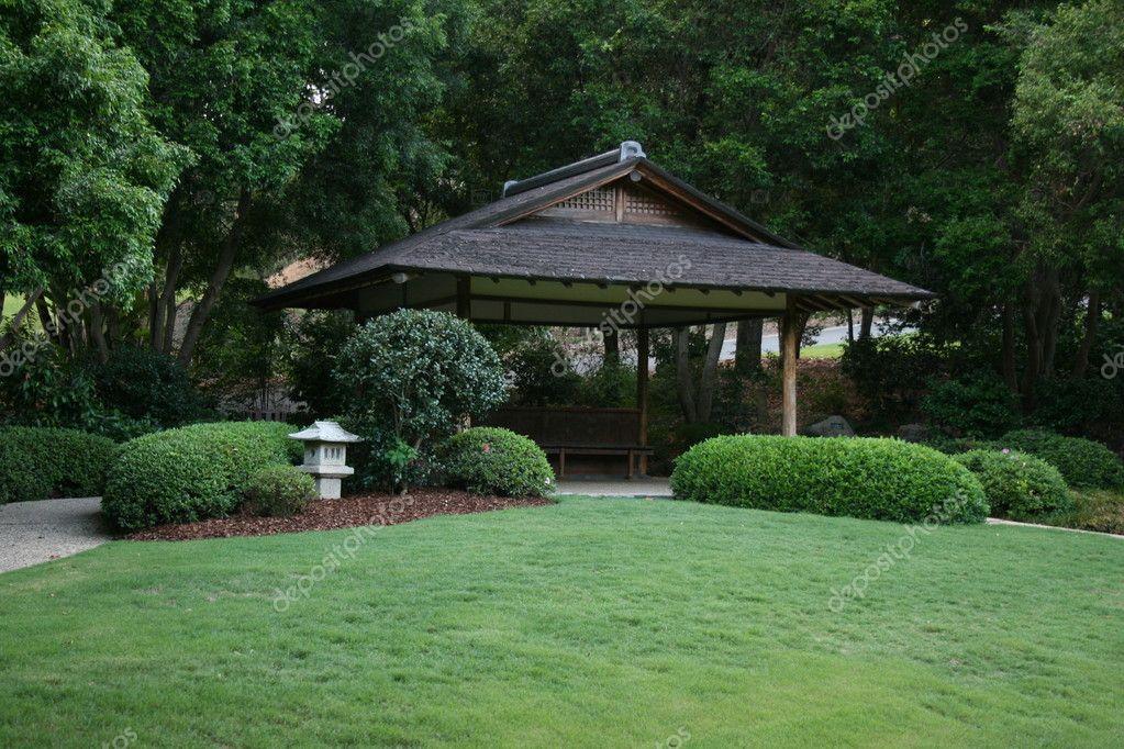 Japanese garden house stock photo matric 1486080 for Japanese garden house