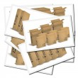 Royalty-Free Stock Photo: Corrugated cardboard boxes