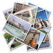 Postcards from the city of Valencia in S — Stock Photo