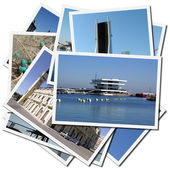 Port of Valencia in Spain (Europe) — Stock Photo