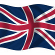 Flag of Great Britain — Stock Photo #1627970