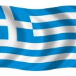 Flag of Greece — Stock Photo #1628217