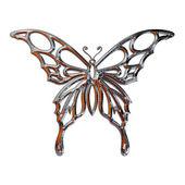 Illustrazione di una farfalla realizzata in — Foto Stock