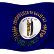 Flag of Kentucky — Lizenzfreies Foto
