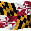 Royalty-Free Stock Photo: Flag of Maryland