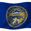 Flag of Nebraska — Stock Photo #1643790