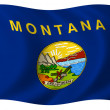 Flag of Montana — Foto de stock #1643807