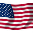 Flag of United States — Stock Photo #1643918