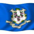 Royalty-Free Stock Photo: Flag of Connecticut