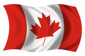 Bandera Canada — Stock Photo