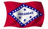 Flag of Arkansas — Stock Photo