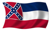 Flag of Mississippi — Stock Photo