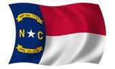 Flag of North Carolina — Stock Photo