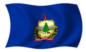 Flag of Vermont — Stock Photo