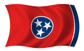 Flag of Tennessee — Stock Photo