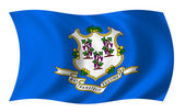 Flag of Connecticut — Stock Photo