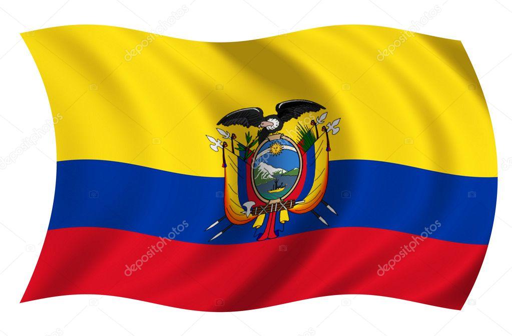 Ecuador Vector Flag Flag of Ecuador — Photo by