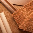 Materials for an apartment interior — 图库照片