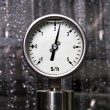 Stock Photo: Measurement - Dollar per hour