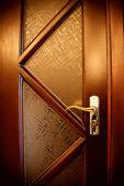 Brown door — Stock Photo
