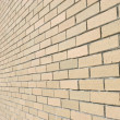 Stock Photo: Bricked Wall Background Perspective