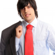 Stock Photo: Portrait of young businessman