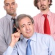 Business team posing — Stock Photo