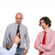 Businessmen discussing new project — Stock Photo