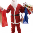 Young Man in Santa costume — Stock Photo #1487730
