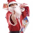 Stock Photo: Young Man in Santa costume