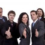 Business team offering handshake — Stock Photo