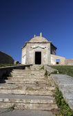 老教堂的路径 — 图库照片