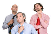 Unhappy business team — Stock Photo